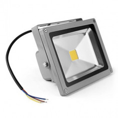 PROIECTOR LED 10W ECHIVALENT 100W 900 LUMENI IP65 ILUMINAT EXTERIOR 220V - Corp de iluminat, Proiectoare