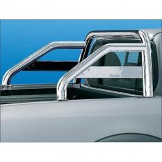 Rollbar inox compatibil NISSAN NAVARA D40 - Bullbar auto