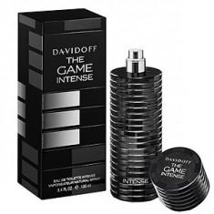 Davidoff The Game Intense EDT Intense 60 ml pentru barbati - Parfum barbati Davidoff, Apa de toaleta