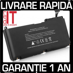 BATERIE ACUMULATOR APPLE MACBOOK A1331 A1342 MC375LL/A MB985LL/A MC118LL - Baterie laptop Apple, 6 celule, 5200 mAh