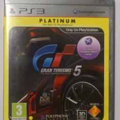 Vand joc Gran Turismo 5 Playstation 3 PS3 - Jocuri PS3