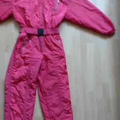 Costum ski Luhta Made in Portugal cu imprimeu fin; marime 42, vezi dim.; ca nou - Echipament ski