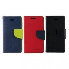 Husa ALLVIEW E4 / E4 Lite Flip Case Inchidere Magnetica Albastra - Husa Telefon Allview, Albastru, Piele Ecologica, Cu clapeta, Toc