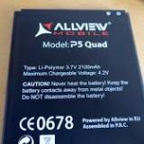 Baterie acumulator Allview P5 Quad originala swap, Li-ion, 1000mAh/3, 7Wh