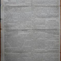 Ziarul Albina , nr. 33 , 1870 , Budapesta , in limba romana , Director V. Babes
