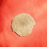 Moneda Medievala Polonia, din argint, d=2 cm, Europa
