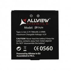 Baterie acumulator Allview S6 style originala swap, Li-ion, 1000mAh/3, 7Wh