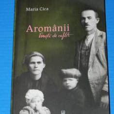 MARIA CICA - AROMANII. POVESTI DE SUFLET. cogealac. aromani. - Biografie