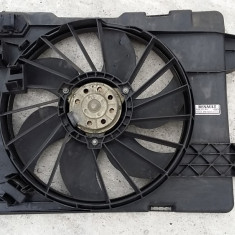 Electroventilator radiator GMV Renault Megane 2 stare FOARTE BUNA - Ventilatoare auto, MEGANE II (BM0/1_, CM0/1_) - [2002 - 2008]