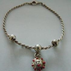 Bratara argint cu accesorii - 43