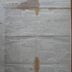 Ziarul Albina , nr. 35 , 1870 , Budapesta , in limba romana , Director V. Babes