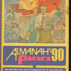 (C6563) ALMANAH FLACARA 1990