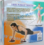 Aparat multifunctional pentru flotari si mobilitate - Twister Push Up - Nou
