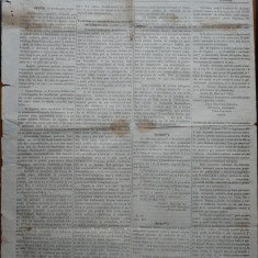 Ziarul Albina , nr. 40 , 1870 , Budapesta , in limba romana , Director V. Babes
