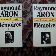 MEmoires : 50 ans de reflexion politique / Raymond Aron - Istorie