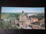 SEPT15 - Vedere/ Carte postala - Arad - Palatul culturii, Circulata, Printata