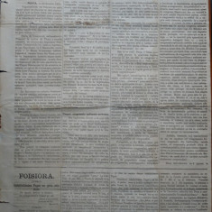 Ziarul Albina , nr. 39 , 1870 , Budapesta , in limba romana , Director V. Babes