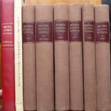 Revista istorica romana , 1934 - 1938 , 1940 - 1943 , 1945 , 8 volume groase