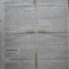 Ziarul Albina , nr. 34 , 1870 , Budapesta , in limba romana , Director V. Babes