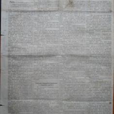 Ziarul Albina , nr. 42 , 1870 , Budapesta , in limba romana , Director V. Babes