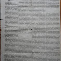 Ziarul Albina , nr. 41 , 1870 , Budapesta , in limba romana , Director V. Babes