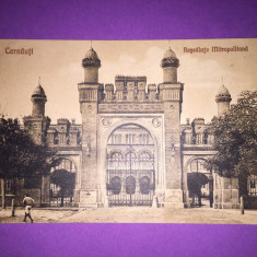 Bukowina - Cernauti - Resedinta Mitropolitana - Carte Postala Bucovina 1904-1918, Circulata, Fotografie