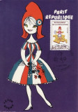 3711 - Franta 1982 - carte maxima