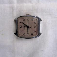 Ceas rusesc mecanic Poliot+bratara metalica - Ceas barbatesc Poljot, Metal necunoscut, Analog