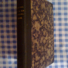 G0 Buletinul Societatii Regale Romane de Geografie - 1928 - tomul XLVII - Carte Geografie