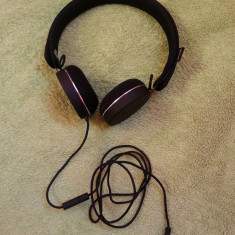 Casti Urbanears Humlan Black - ( mufa reparata ) - perfect functionale - Casca PC, Casti cu microfon, Analog