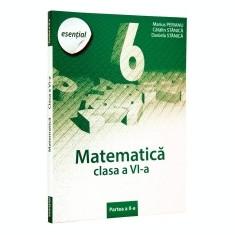 Esential culegere. Clubul matematicienilor. Clasa a 6-a. Partea II