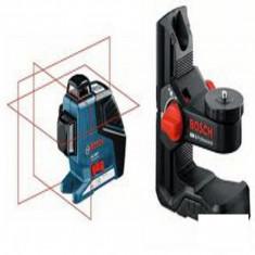 Nivela laser cu linii + suport universal Bosch - GLL 3-80 P + BM 1 - Nivela optica