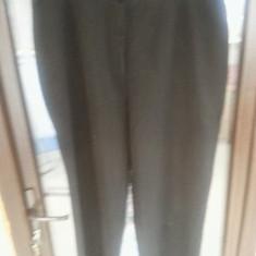 PANTALONI DIN STOFA XXXL - Pantaloni XXXL, Culoare: Negru
