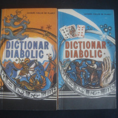 JACQUES COLLIN DE PLANCY - DICTIONAR DIABOLIC 2 volume - Carte paranormal