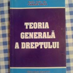 D2 Teoria generala a dreptului - Conf, Univ, Dr. Tanase Joita - Carte Teoria dreptului