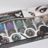 Set Eyeliner Gel si fard de pleoape crema rezistent la transfer 12 culori
