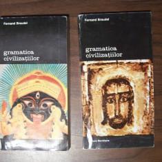 Gramatica civilizatiilor, 2 vol - Fernand Braudel (Meridiane, 1994) - Istorie