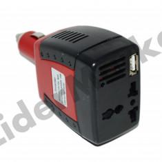 Invertor auto 75W - USB