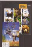 Mustique - Tundra Fauna - Michel No. 408/16+bl.69, Natura, America Centrala si de Sud
