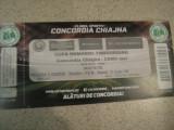 Concordia Chiajna - CSMS Iasi (27 octombrie 2015), bilet de meci, Cupa Romaniei