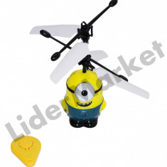 Elicopter Minion Despicable Me 2 cu telecomanda - Elicopter de jucarie