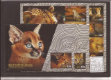 Liberia - 2014 Africa Wild Cats - complet set, Natura