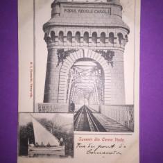 Constanta - Cernavoda - Carte Postala Dobrogea 1904-1918, Circulata, Fotografie