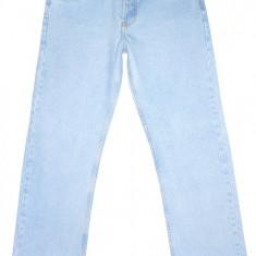 (Made in U.S.A.) BLUGI LEVI'S 501 Big E - (MARIME: W 34 / L 32) - Talie = 86 CM - Blugi barbati Levi's, Culoare: Bleu, Lungi, Prespalat, Drepti, Normal
