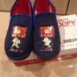 Papuci de casa, gradinita, scoala marca Beppi marimea 33 NOI cu SNOOPY