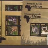 Ghana - 2014 African Fauna - 2 s/s + 2 bl., Natura, Africa