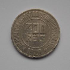 400 reis 1920 BRAZILIA-putin indoita, America Centrala si de Sud