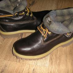 Bocanci barbat TIMBERLAND originali noi piele waterproof+ woolrich 41/41.5/43