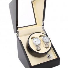 Cutie ceas lemn Watch Winder Cutie intors ceasuri depozitare ceasuri
