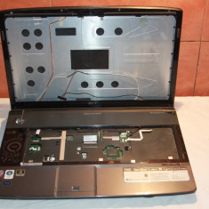 Carcasa completa cu balamale laptop ACER ASPIRE 8930 G, stare buna (18.4inch) - Carcasa laptop